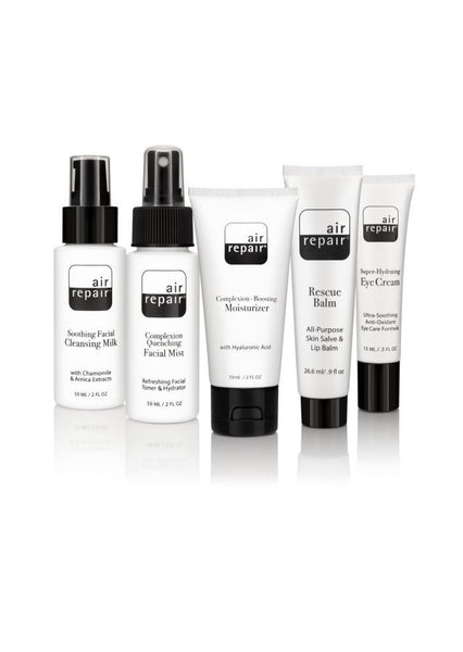 Air Repair® Skincare Kit: ($76 Value) Grab & Glow Essentials for Travel & Beyond