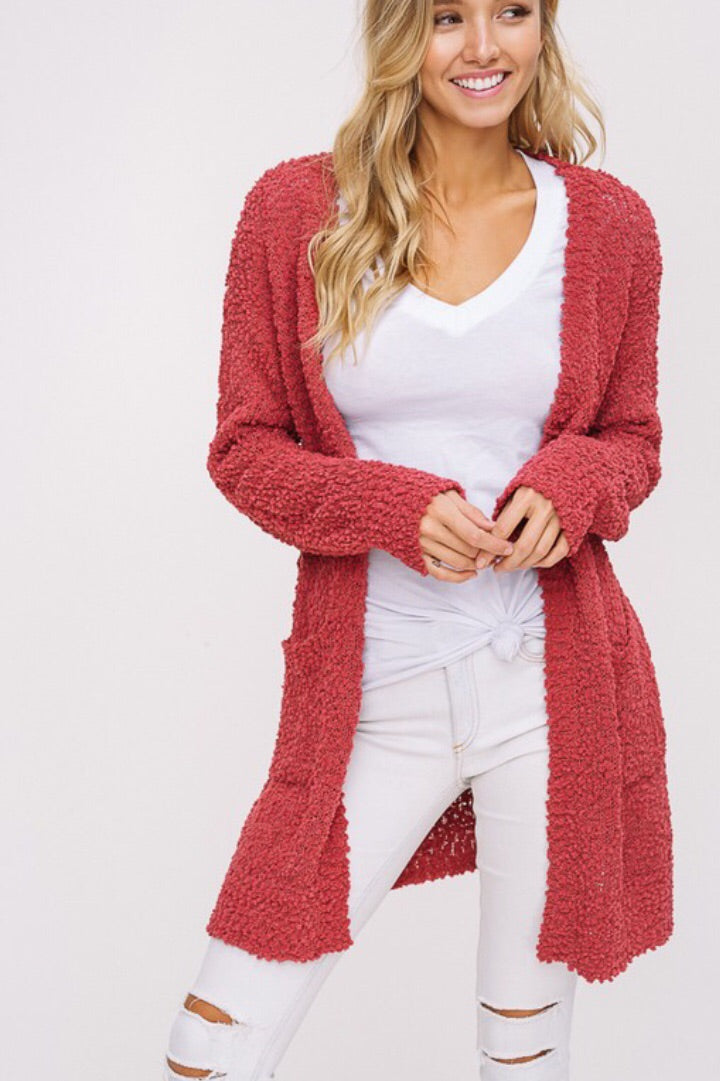 Haley Cardigan - apricot