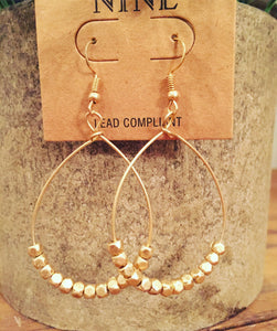 Gold Susan Earrings