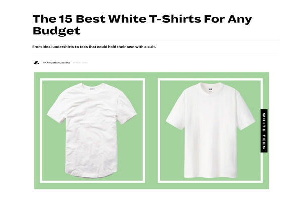 Esquire SIT White Shirt