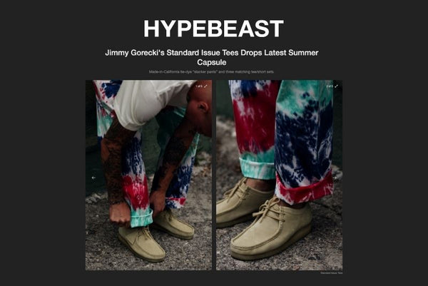 HypeBeast Feature's Standard Issue Latest Summer Drop