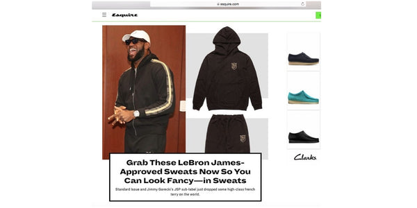 Esquire Shows You How To Get Lebron's Look