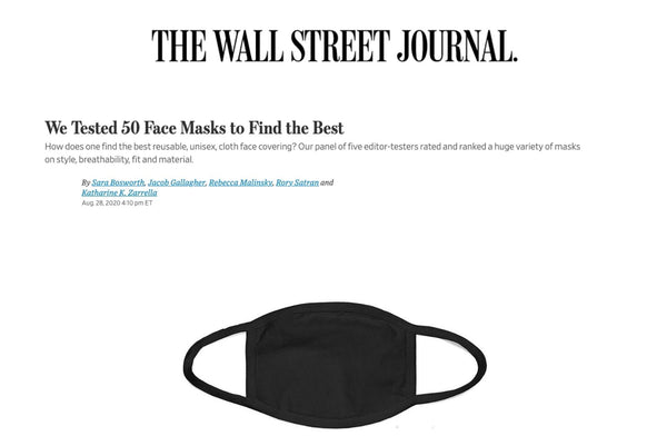 Wall Street Journal Masks