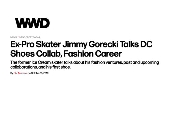 Standard Issue's Jimmy Gorecki Talks DC Collab with WWD