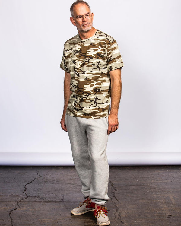 Charlie Becker Wears Standard Issue Tees