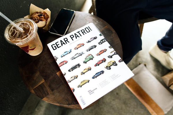 Standard Issue Tees Featured In 9th Edition Of Gear Patrol Magazine