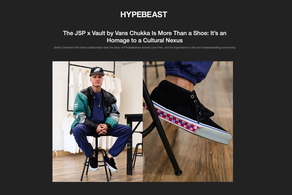 Hypebeast The JSP x Vault by Vans Chukka Is More Than a Shoe: It's an Homage to a Cultural Nexus