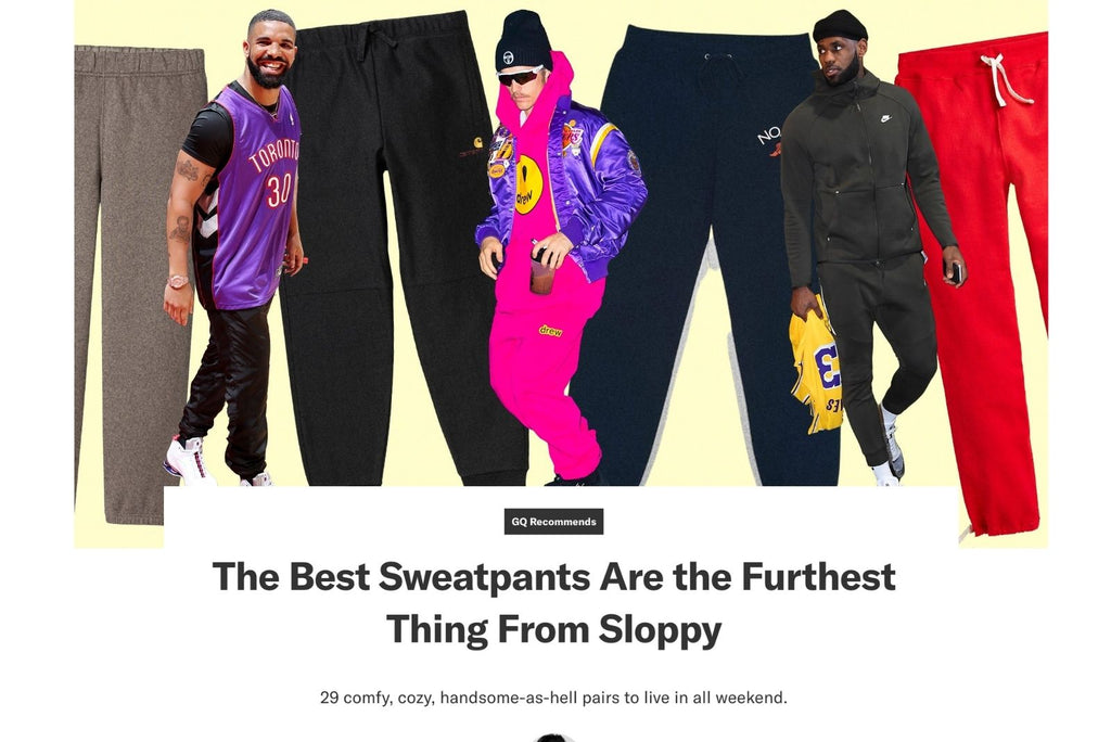 GQ Recommends The Best Sweatpants Are the Furthest Thing From Sloppy
