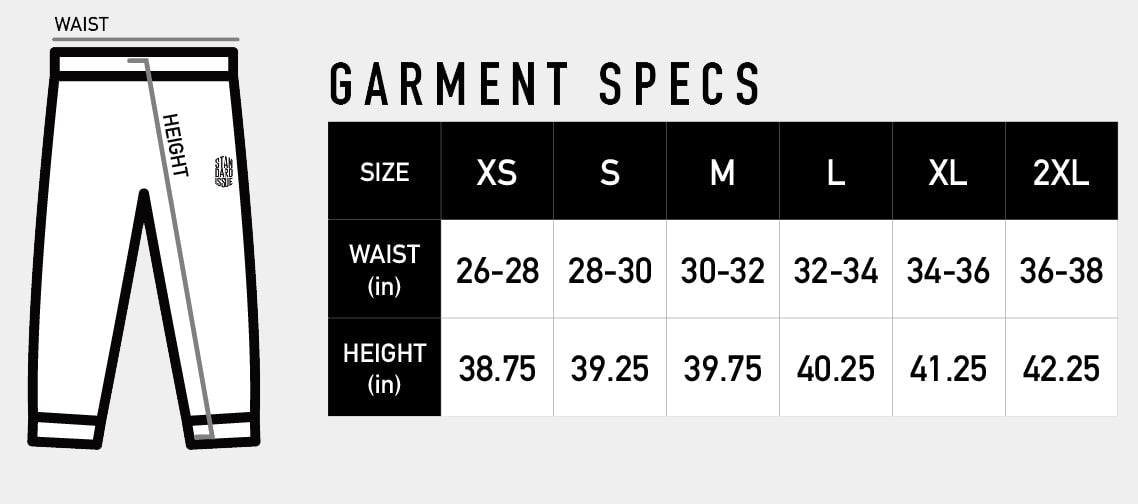 Standard Issue - Bottoms - Garment Specs