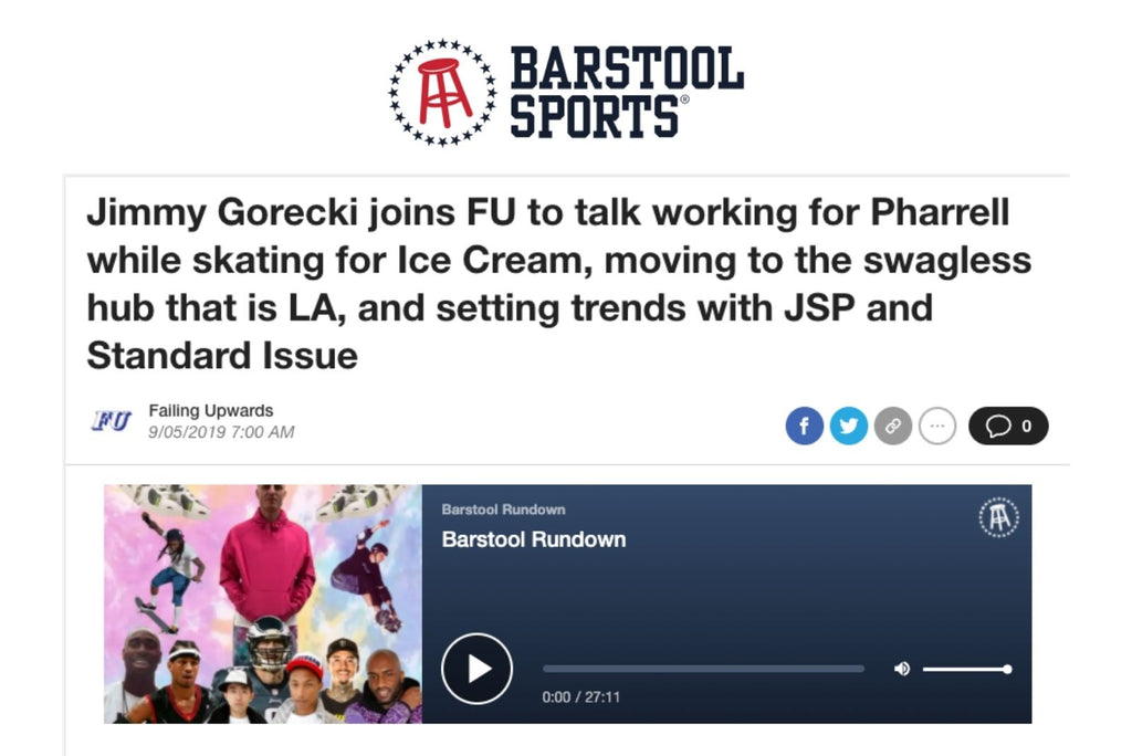 Barstool Sports Failing Upwards Podcast