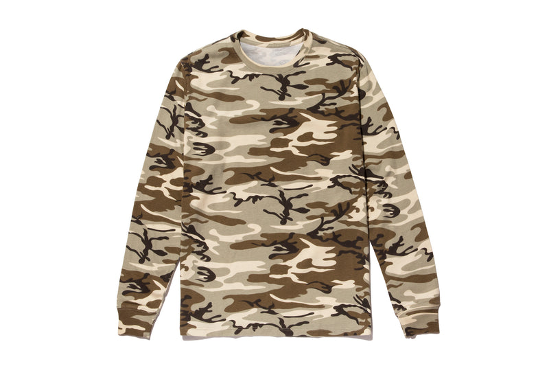 CAMO LONG SLEEVE SINGLE PACK