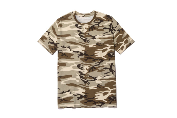 CAMO SHORT SLEEVE TEE - SINGLE PACK