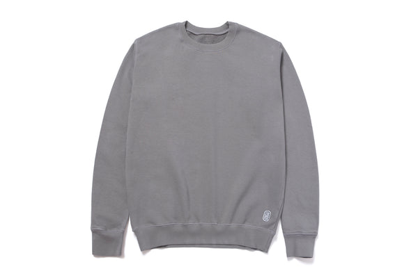 STANDARD CREWNECK SWEATER ACE GREY