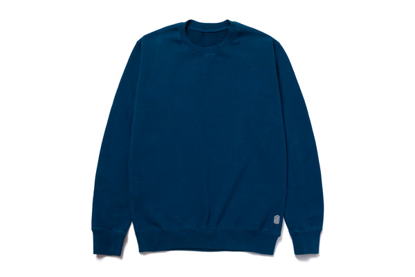 STANDARD CREWNECK SWEATER INK BLUE