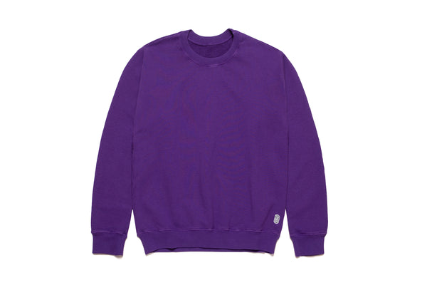 STANDARD CREWNECK SWEATER PURPLE