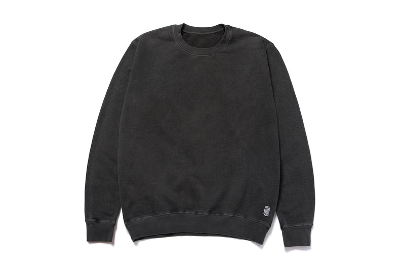 PIGMENT CREWNECK SWEATER - BLACK