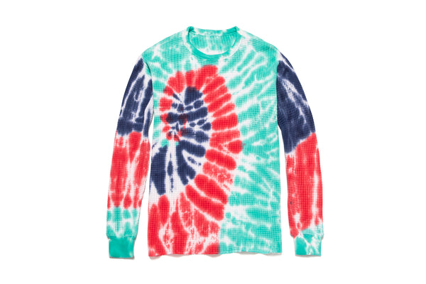 JSP TIE DYE THERMAL SWEATER