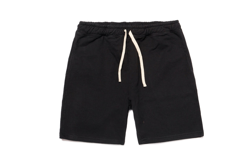 STANDARD SWEAT SHORTS BLACK