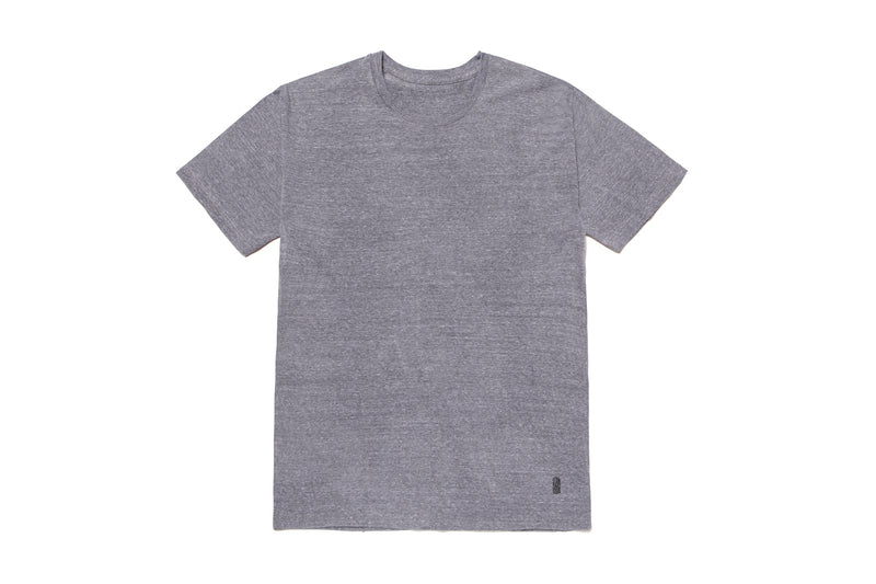 TRI BLEND ATHLETIC GREY TEE