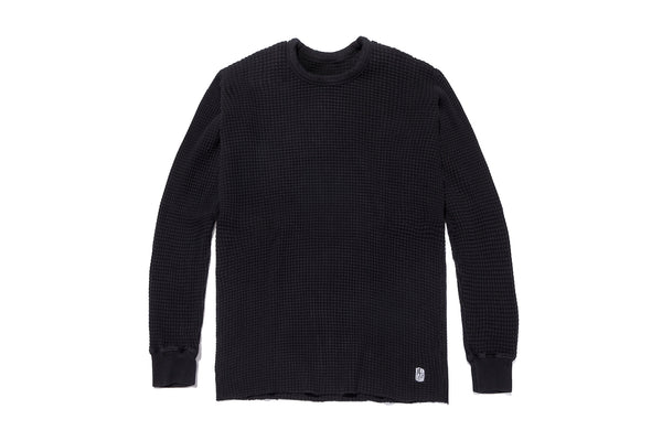 STANDARD THERMAL SWEATER BLACK
