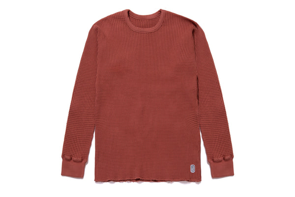 STANDARD THERMAL SWEATER RUST