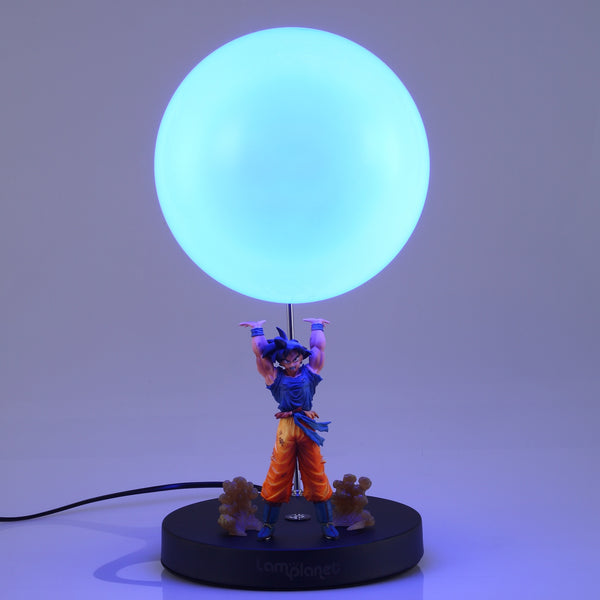 Dragon Ball Z Goku Spirit Bomb Lamp - Super Anime Store FREE SHIPPING FAST SHIPPING USA
