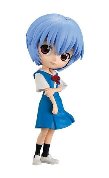 Evangelion Movie Q Posket Rei Ayanami Ver.1 Figure Super Anime Store