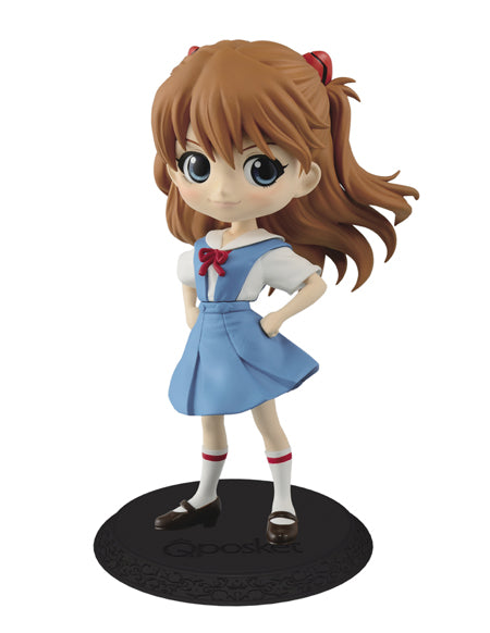 Evangelion Movie Q posket Shikinami Asuka Langley ver.1 Figure Super Anime Store