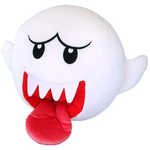 "Little Buddy Super Mario Series Ghost Boo Large Plush, 10"" Super Anime Store"