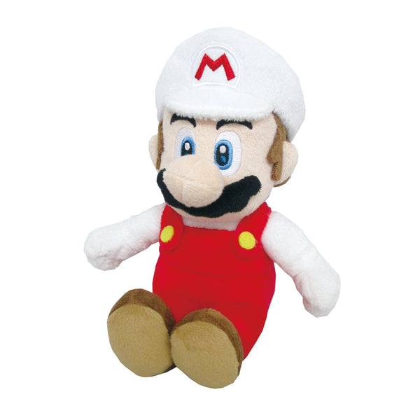 "Little Buddy Super Mario All Star Collection Fire Mario Plush 9.5"" Super Anime Store"