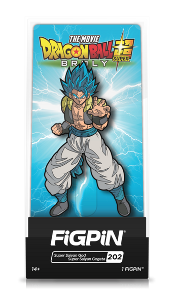 Dragon Ball Super Super Saiyan God Super Saiyan Gogeta (#202) Pin Super Anime Store