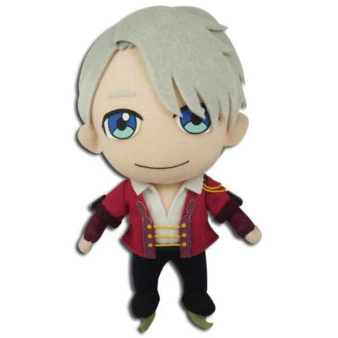 "Great Eastern Yuri On Ice: Victor Dancing Clothes Standing Plush Doll, 8.5"" Super Anime Store"