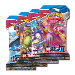 Pokémon TCG: Sword & Shield-Battle Styles Sleeved Booster Pack (10 Cards)