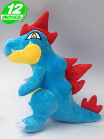 Super Anime Store Anime Pokemon Feraligatr Plush Doll