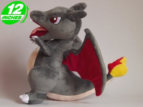 Shiny Charizard Plush Doll 12 Inches - Super Anime Store FREE SHIPPING FAST SHIPPING USA