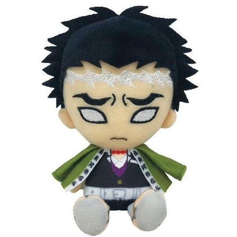 Bandai Demon Slayer Kimetsu no Yaiba Chibi Plush - Himejima Gyomei - Super Anime Store FREE SHIPPING FAST SHIPPING USA