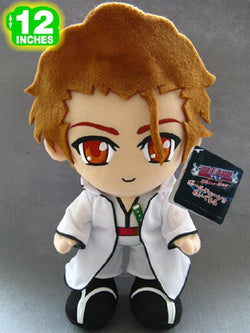 Bleach Sosuke Aizen Plush Doll 12'' - Super Anime Store FREE SHIPPING FAST SHIPPING USA