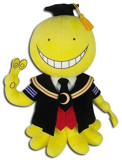 "Assassination Classroom 8"" Koro Sensei Plush Doll Super Anime Store"