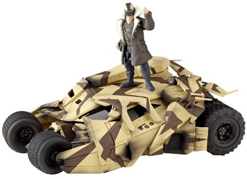 Kaiyodo Sci-Fi Revoltech #047: Batmobile Camouflage Tumbler Vehicle Figure Super Anime Store