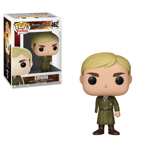 Funko POP 462 Anime: Attack on Titan Season 3 Erwin Figure Super Anime Store