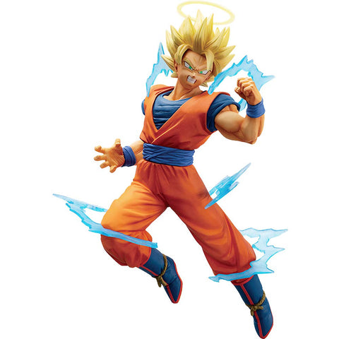 Dragon Ball Z Dokkan Battle Collab Super Saiyan 2 Goku Figure - Super Anime Store FREE SHIPPING FAST SHIPPING USA