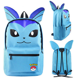 Vaporeon Backpack Bag - Super Anime Store FREE SHIPPING FAST SHIPPING USA