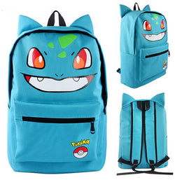 Bulbasaur Backpack Bag - Super Anime Store FREE SHIPPING FAST SHIPPING USA