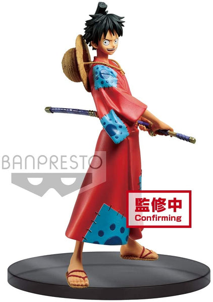 Banpresto One Piece DXF The Grandline Men Wanokuni Vol.1 Monkey D. Luffy Figure Super Anime Store