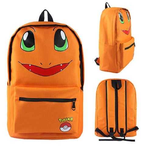 Charmander Backpack Bag - Super Anime Store FREE SHIPPING FAST SHIPPING USA