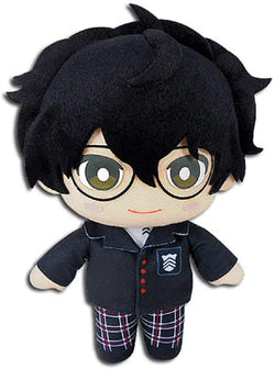 "Great Eastern Entertainment Persona 5- Protagonist Plush Doll 8"" H Super Anime Store"