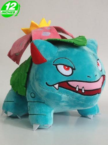 Anime Pokemon Venusaur Plush Doll 12''