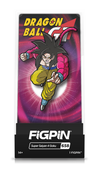 Dragon Ball GT Super Saiyan 4 Goku (#658) Pin Super Anime Store