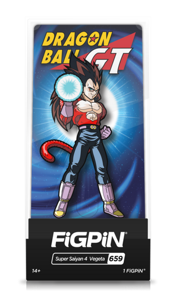 Dragon Ball GT Super Saiyan 4 Vegeta (#659) Pin Super Anime Store