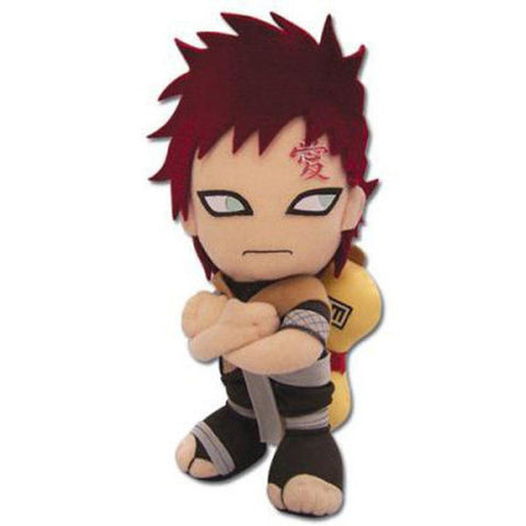 "Great Eastern Anime Naruto: Gaara Stuffed Plush, 7"" - Super Anime Store FREE SHIPPING FAST SHIPPING USA"